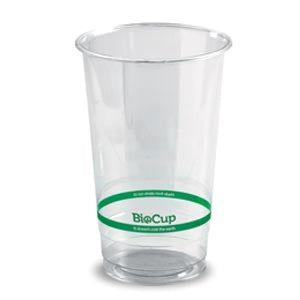700ml Bioplastic (PLA) Cold Cup Clear (1000 Piece)
