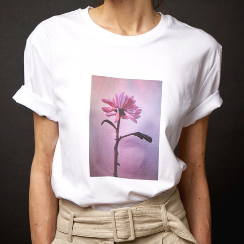 Flower print tshirt by Still life store