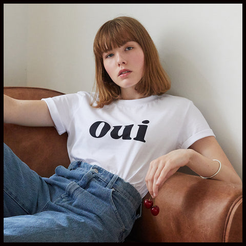 33 % OFF  : OUI UNISEX T-SHIRT