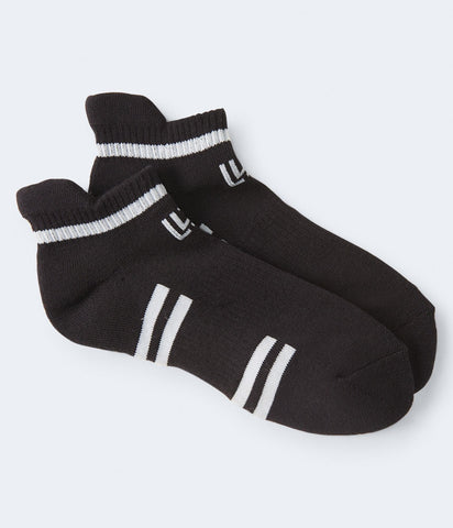 LLD 2-Pack Logo Stripe Performance Ankle Socks