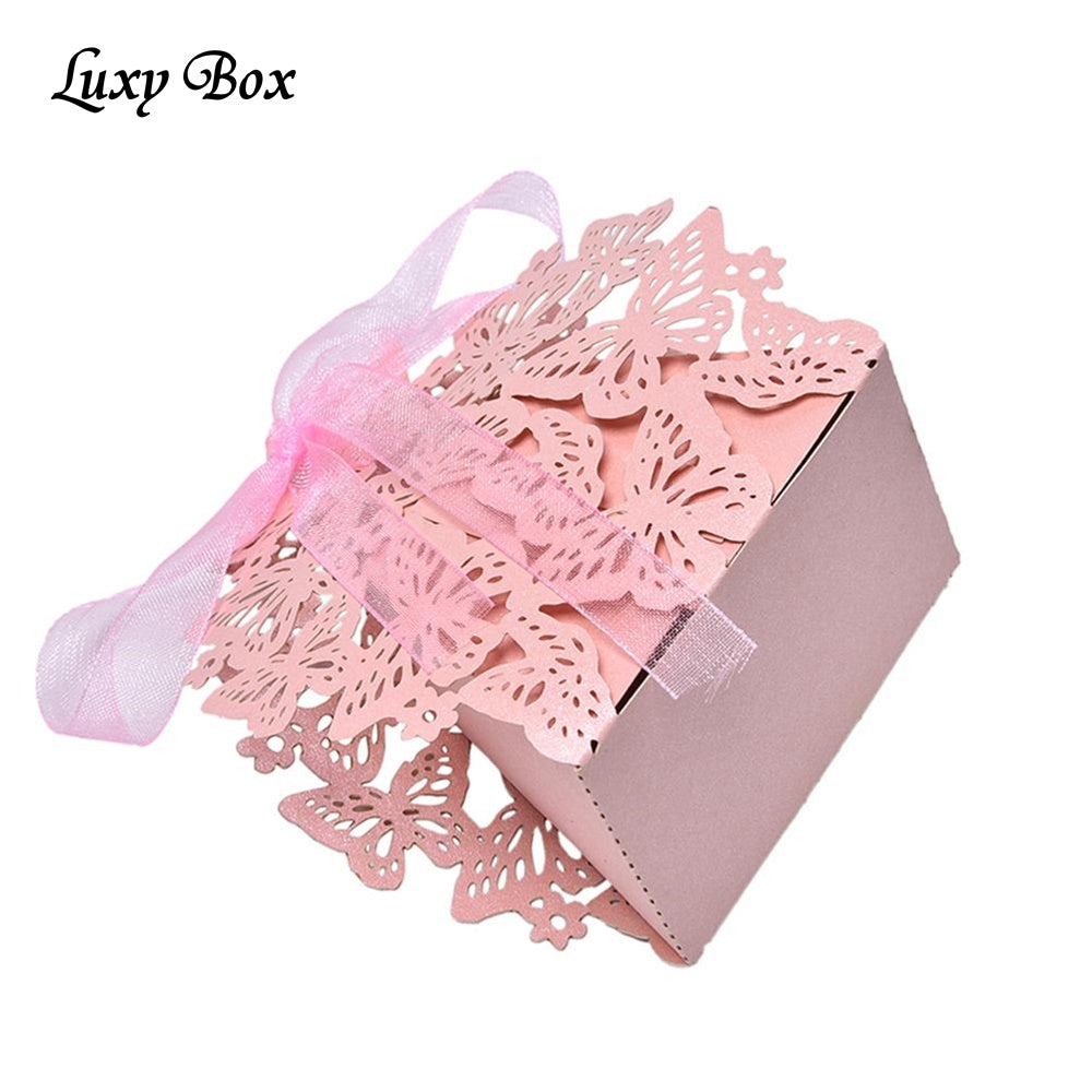20pc set Romantic Wedding Favors Butterfly Decor | Candy Cookie Gift ...