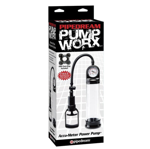 Bomba de ereccion manometro Pump Worx
