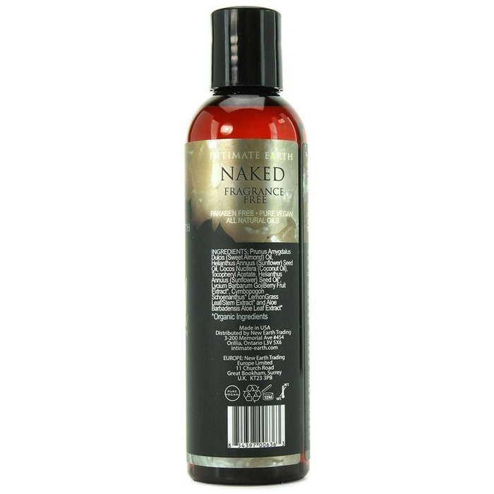 Intimate earth aceite masaje aromaterapia aroma neutro 120ml