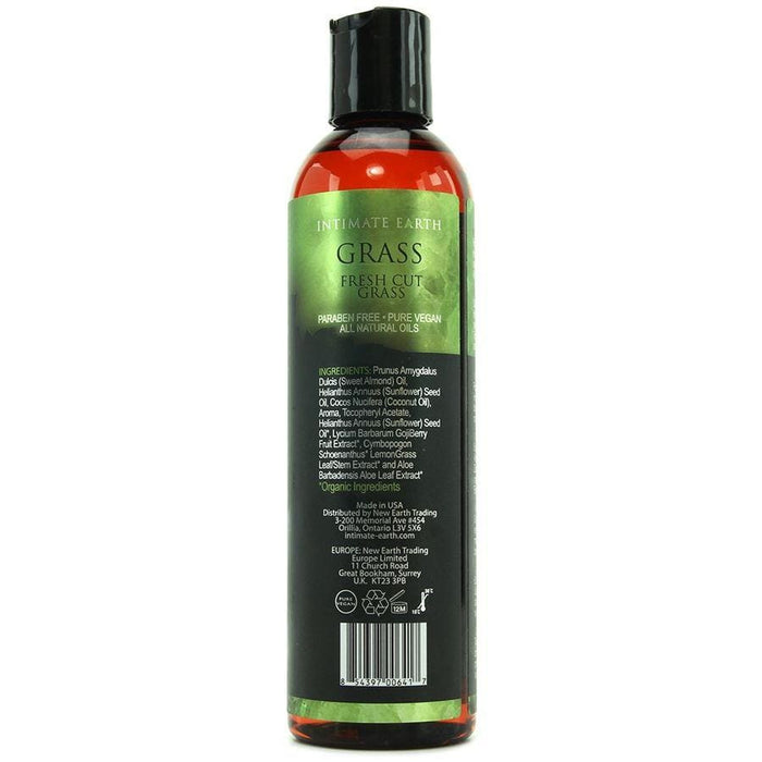 Intimate earth aceite masaje aromaterapia hierba recien cortada 120ml