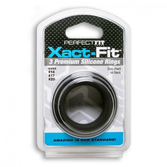 Kit 3 Anillos De Silicona Perfectfit Xact Fit 2