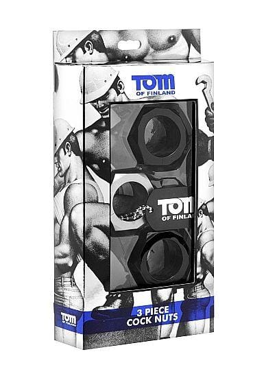 Kit 3 anillos Tom of Finland