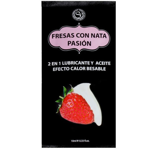 Lube fresas con nata 10ml