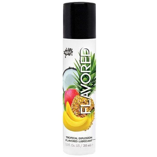 Lubricante Wet Flavored Tropical Explosion 30 ml