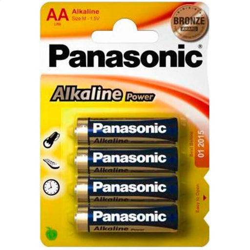 Pilas Panasonic Alkaline Power 4 x AA