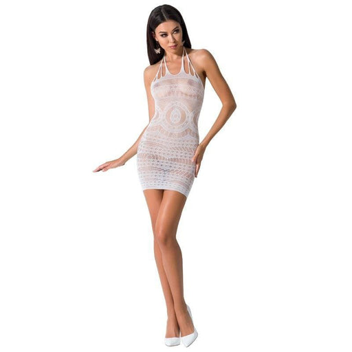 Vestido blanco Passion Woman BS063 talla unica
