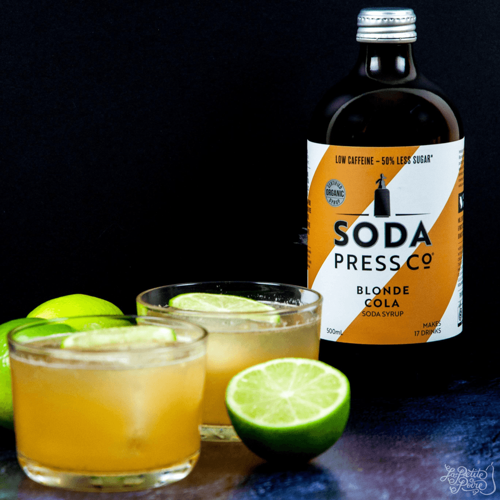 Blonde Cola Vanilla Ginger Muddle