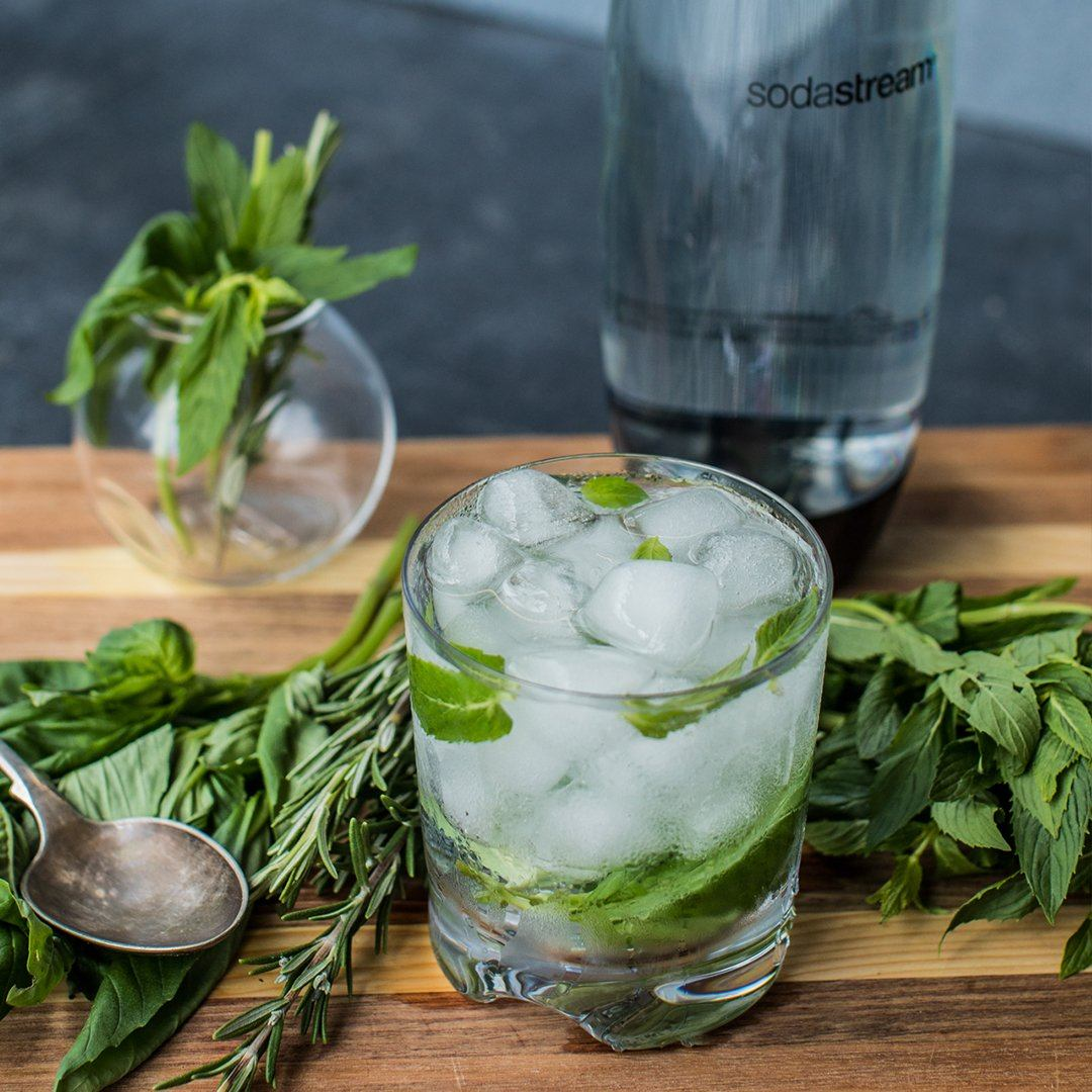 Herb Infused Sparkling Water Recipe