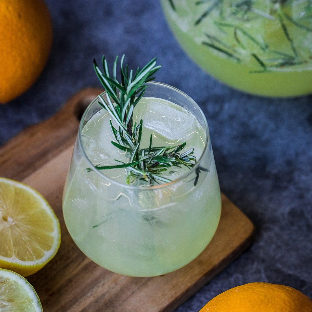 Rosemary Citrus Winter Spritzer Recipe