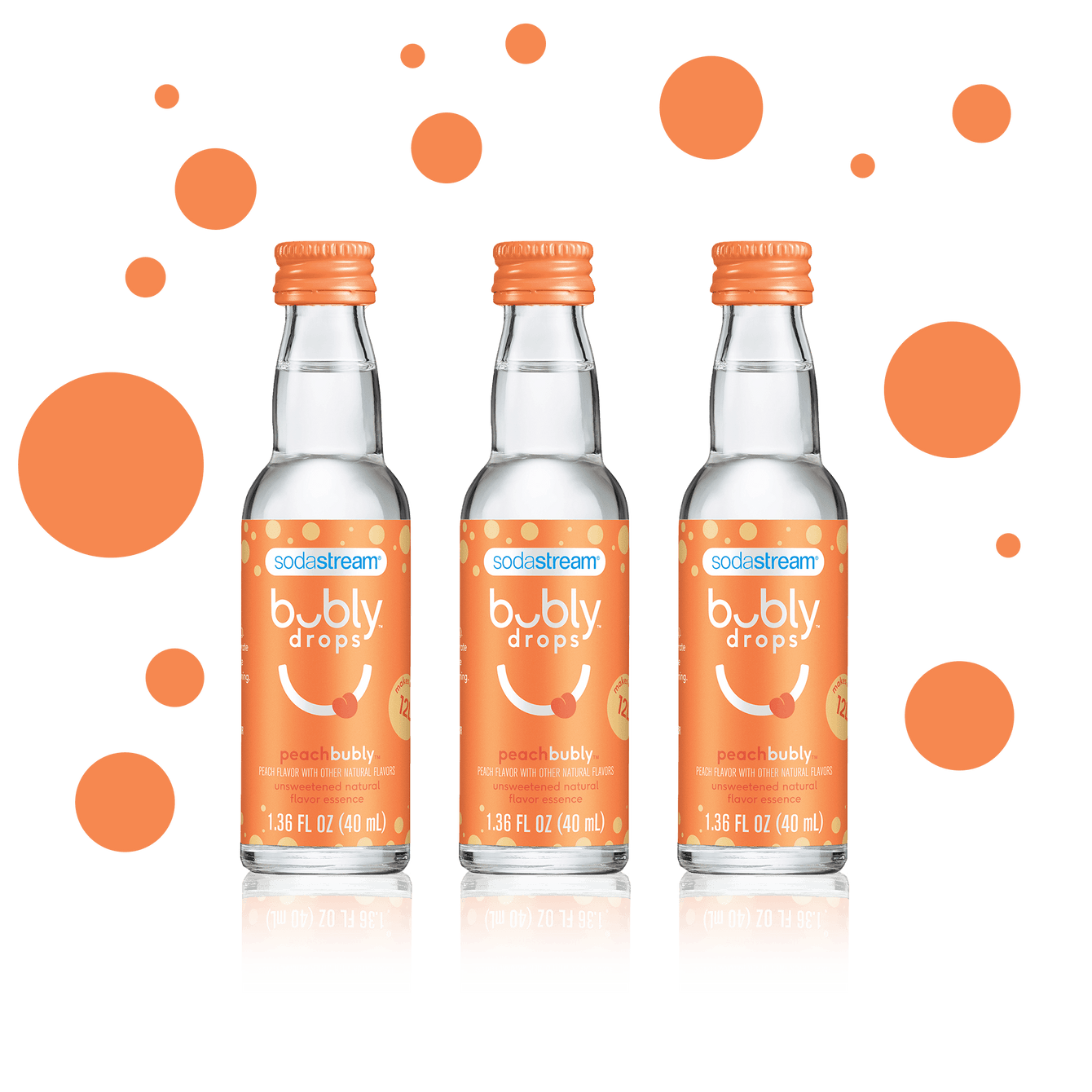 peachbubly drops™  3 Pack
