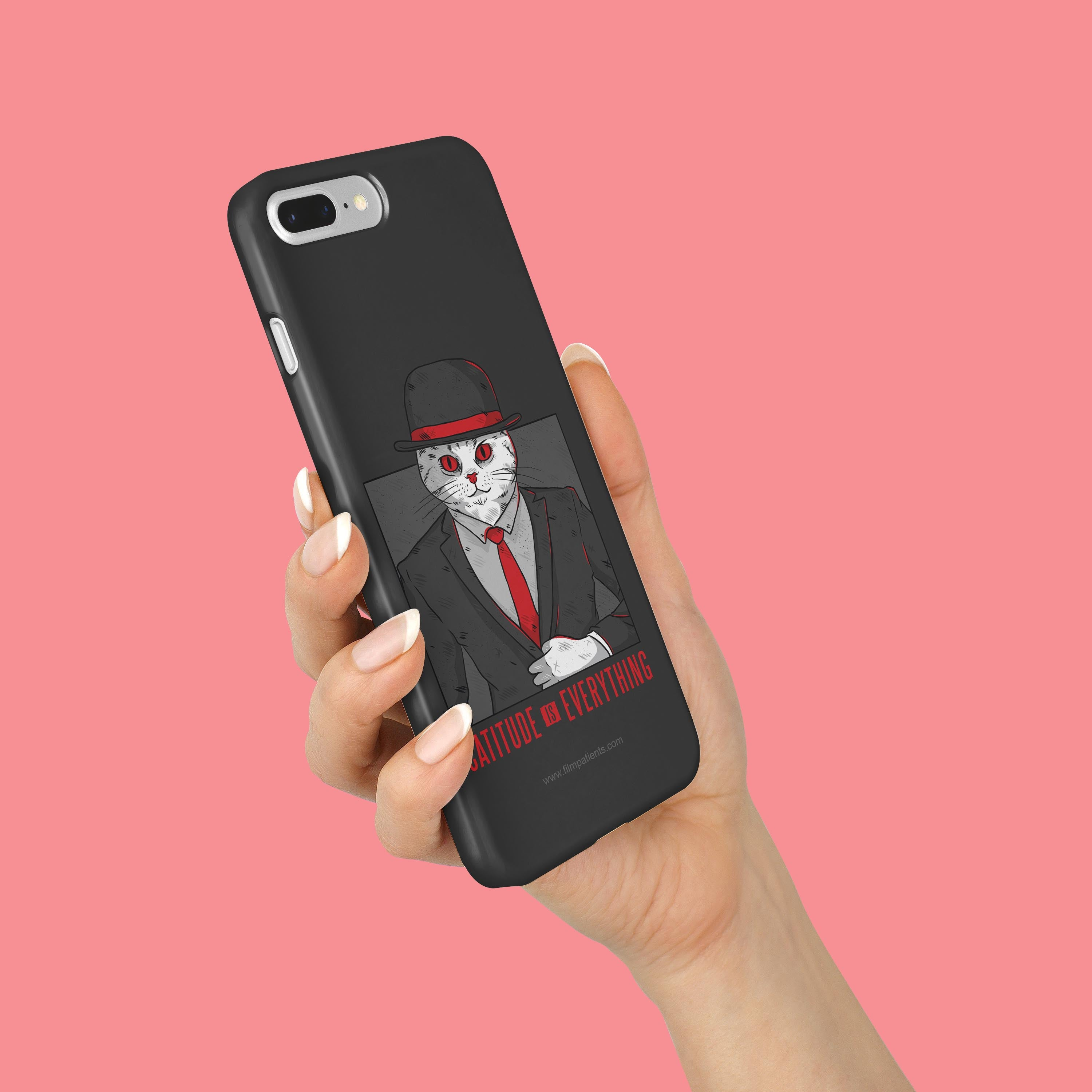 Catitude is Everything Mobile Cover | Film Patients