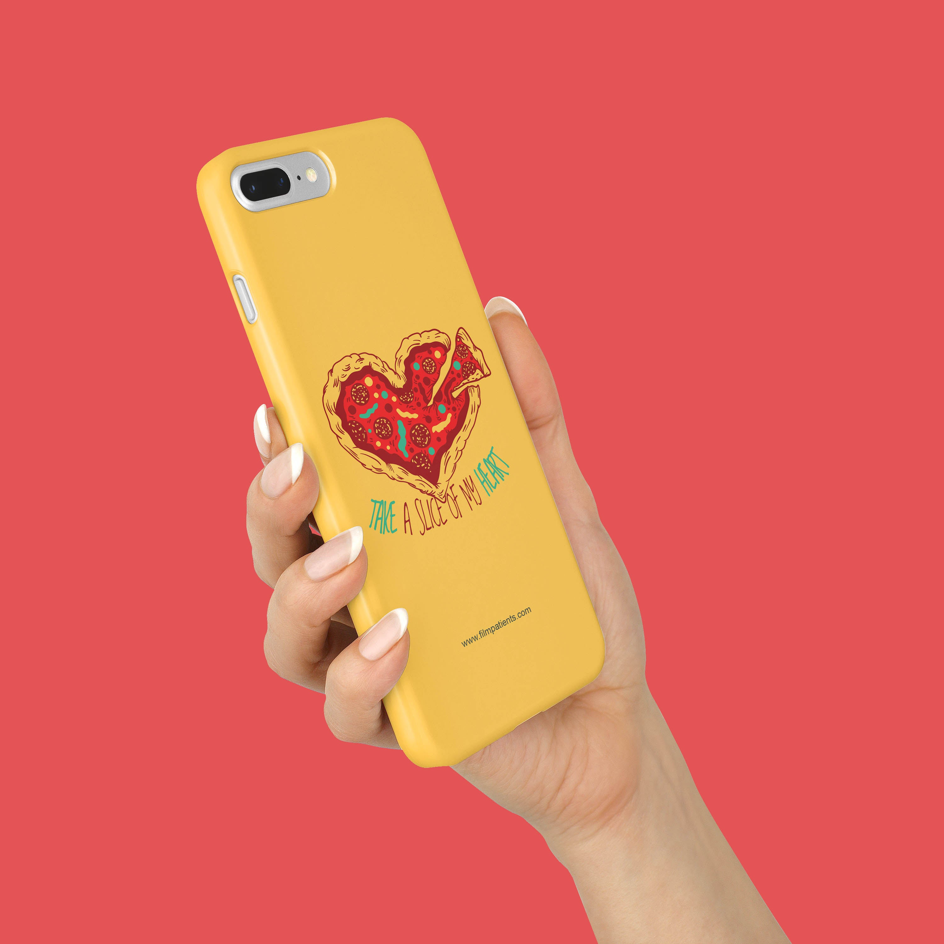 Pizza Love Mobile Cover | Film Patients