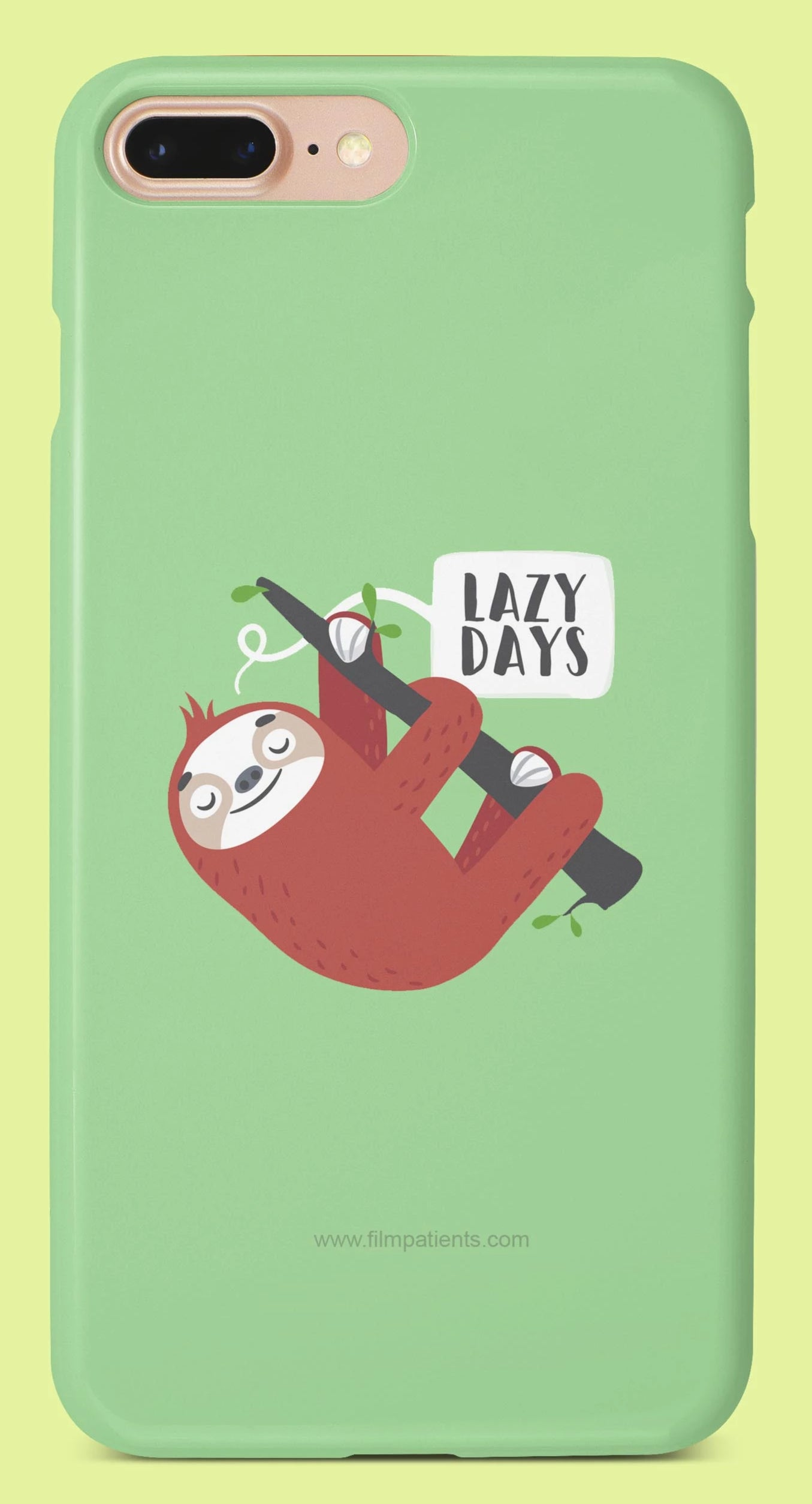 Lazy Days Mobile Cover | Film Patients