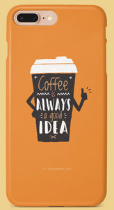 Coffee Lover Mobile Cover | Film Patients