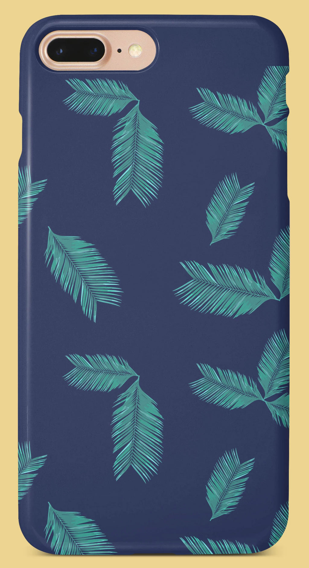 Green Leaves Pattern Mobile Cover | Film Patients