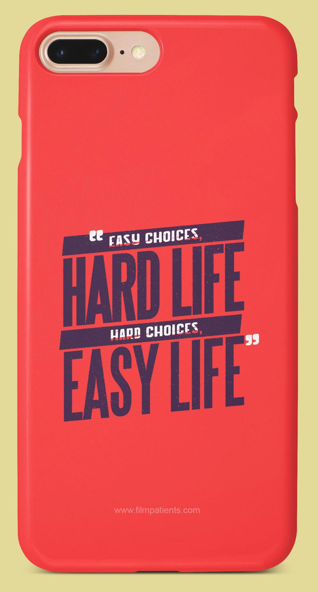 Hard Life Easy Life Designer Cover | Film Patients