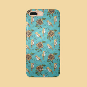 Bird Blue Floral Pattern | Film Patients