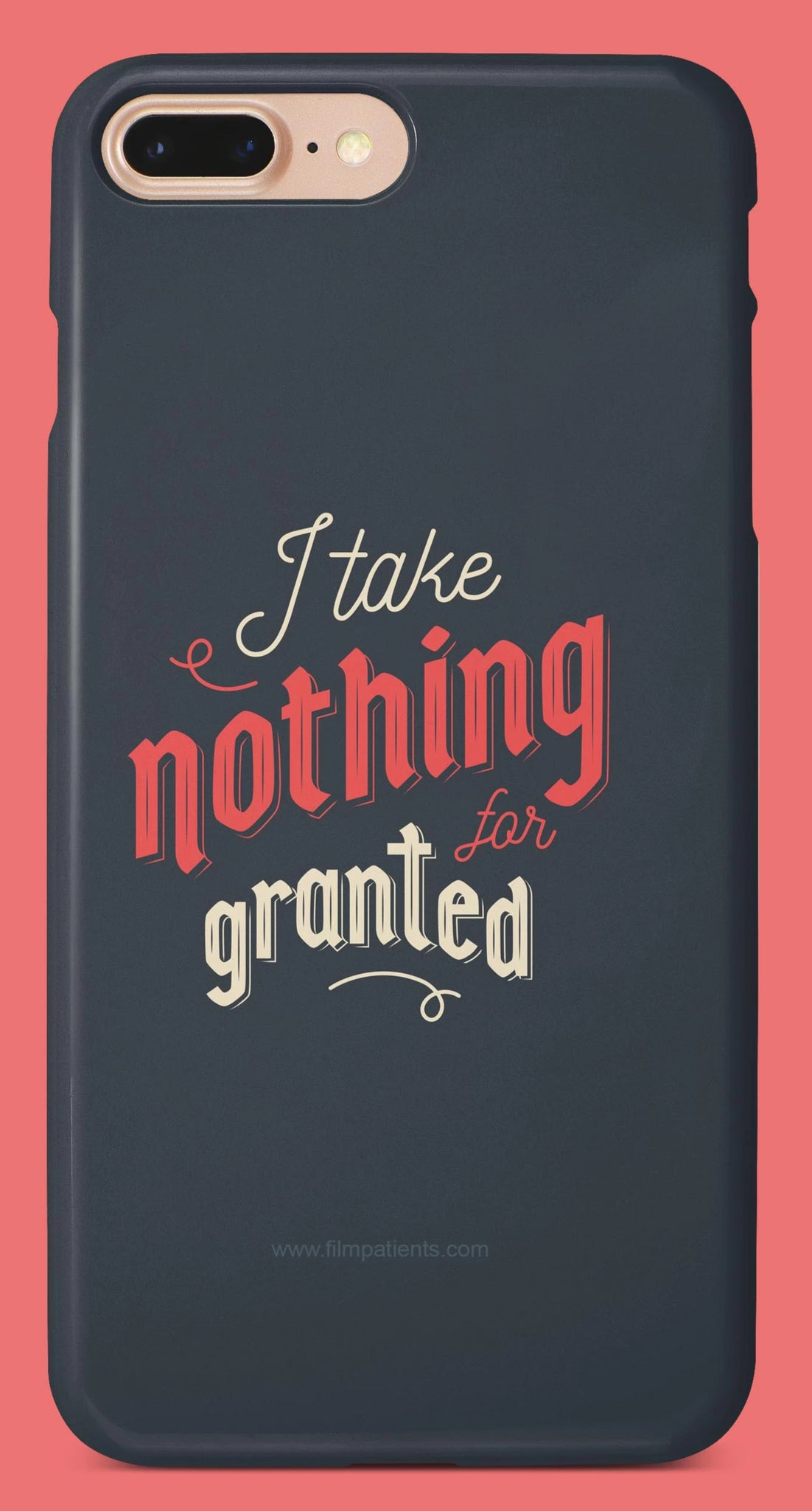 I Take Granted Designer Cover | Film Patients
