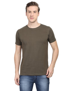 Solids: Olive Green Premium T-shirt