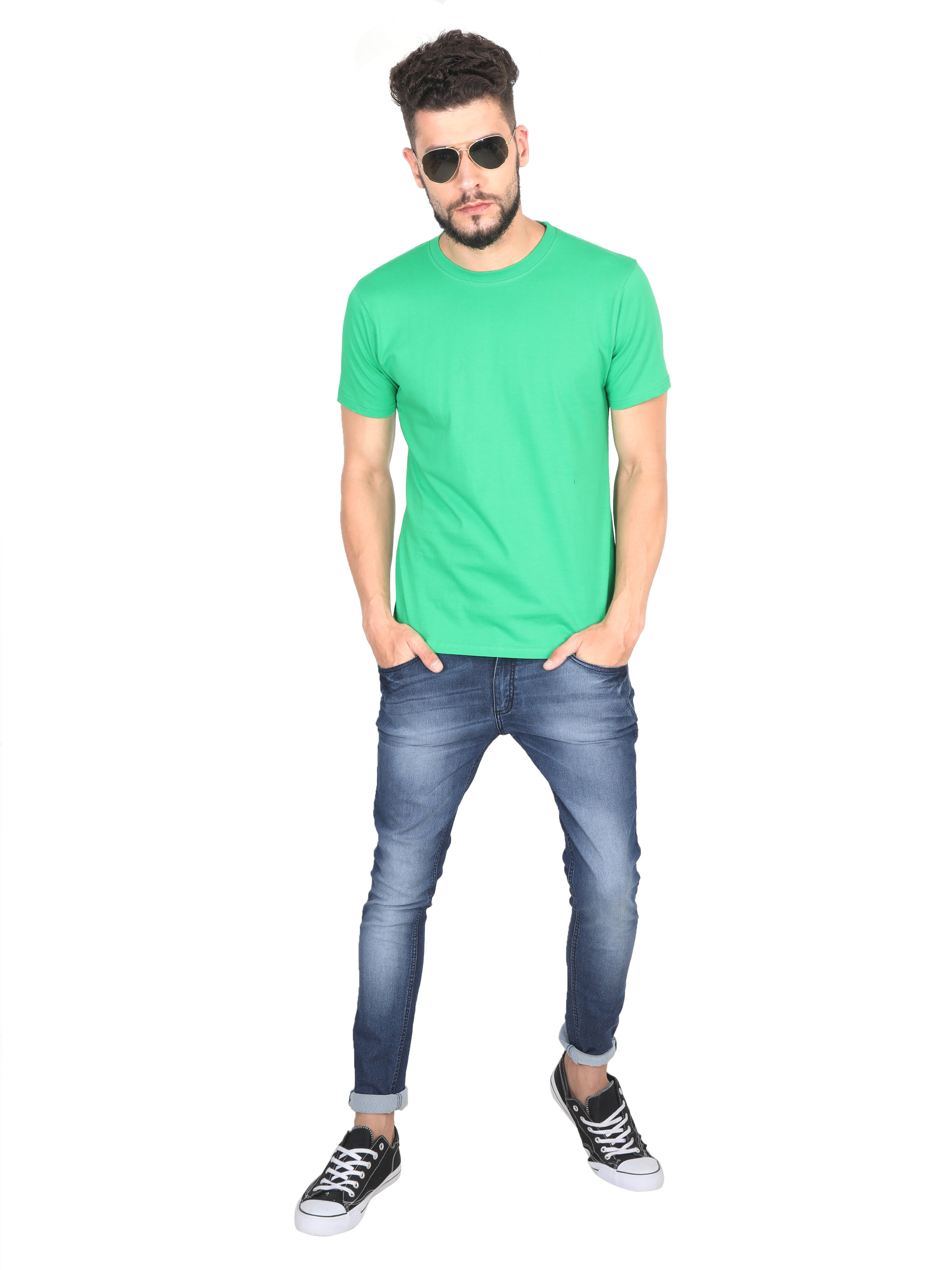 Solids: Flag Green Premium T-shirt