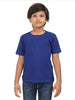 Solids: Plain Royal Blue Kids T-shirt