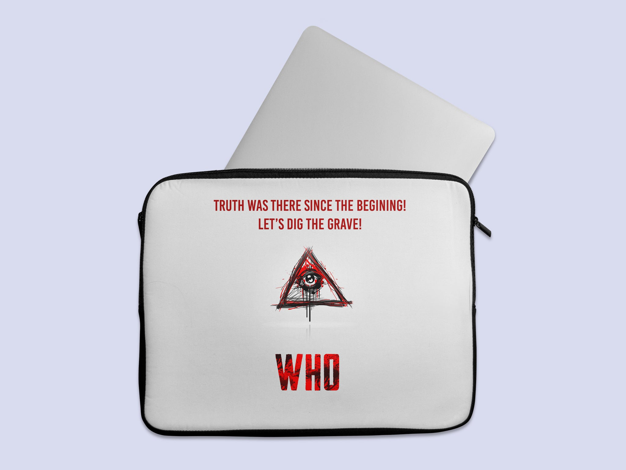 Who Movie Minimal Laptop Sleeve
