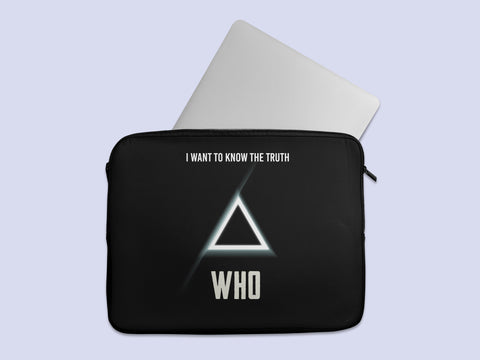 I want to know the Truth Laptop Sleeve