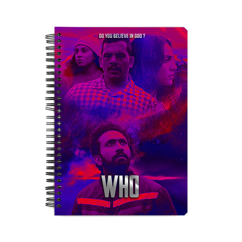 Who Movie Abstract Note Book