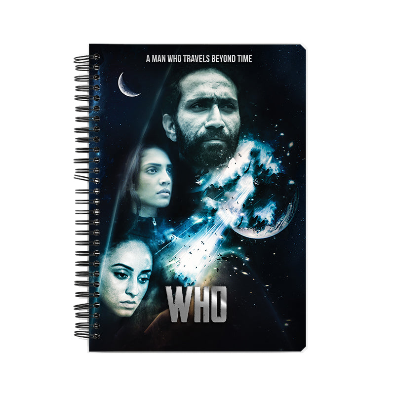 Who Movie Official Notebook