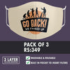 Evolution Mask : Go Back (Pack of 3)