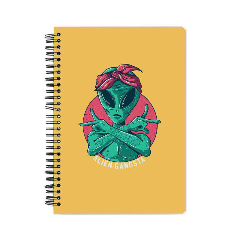 Alien Gangster Notebook
