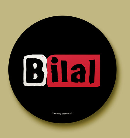 Bilal Button Badge