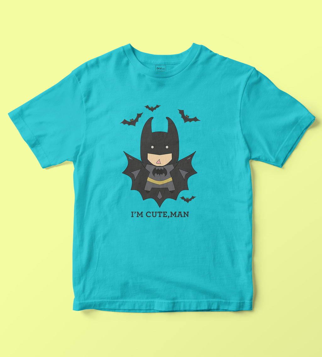 Cute Man Kids Tshirt