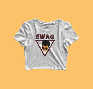 Kunjachan Swag Mammootty Fan Girl Crop Top