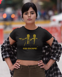 CID Escape - Pulp Fiction CropTop