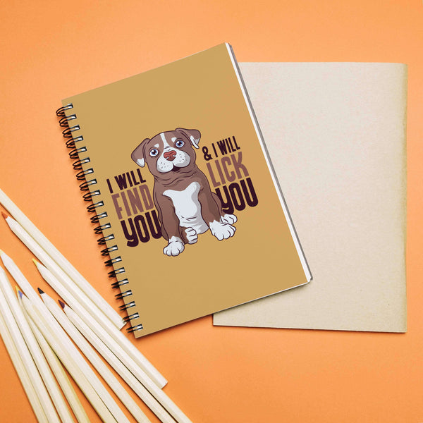 Dog Love Notebook