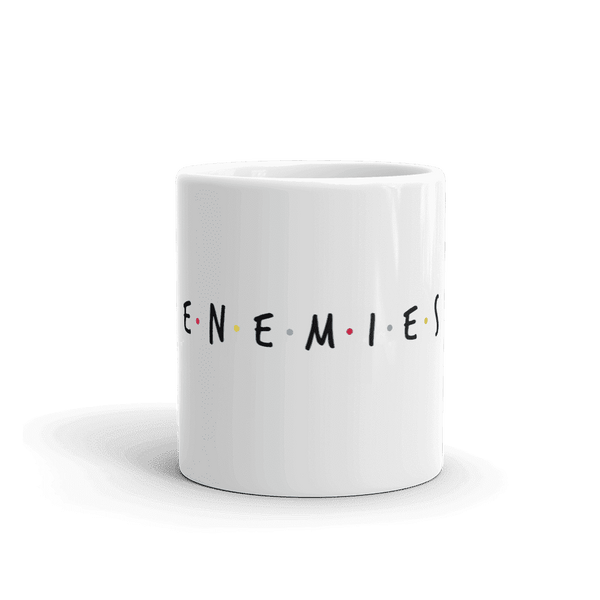 Enemies Coffee Mug