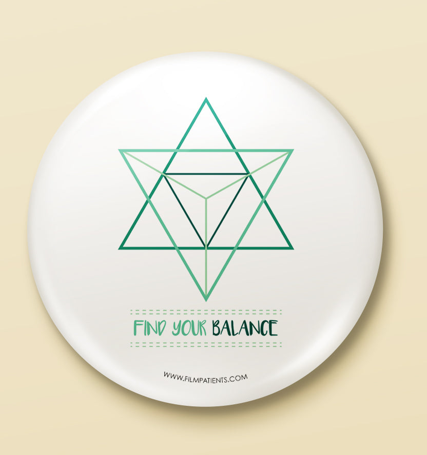 Balance Button Badge