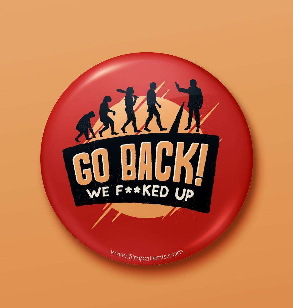 Buy Pre-Evolution Button Badge Online | Film Patients