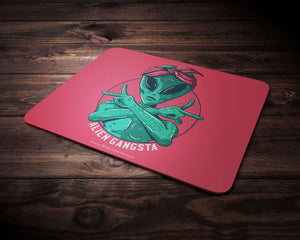 Alien Gangsta Mouse Pad