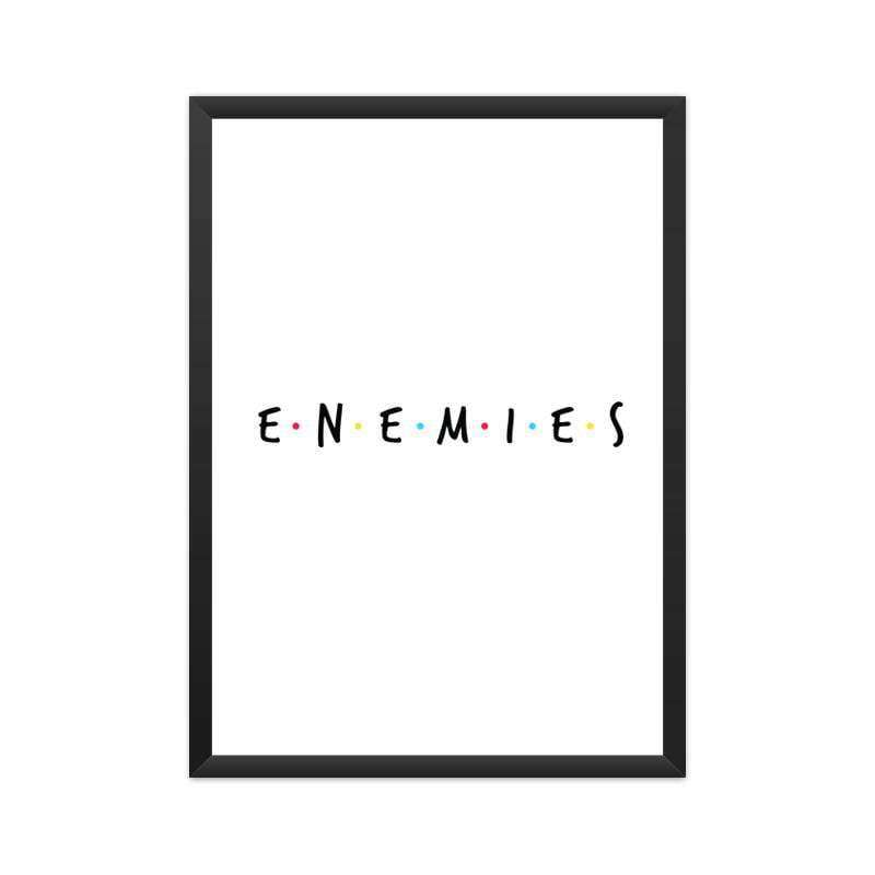 ENEMIES  A3 Poster