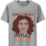 Imtiaz Ali Fan Boy Grey Melange Tshirt
