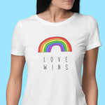 Love Wins Womens Tshirt