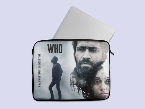 Who Movie Abstract Laptop Sleeve