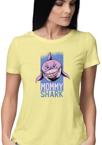 Mommy Shark Womens Tshirt