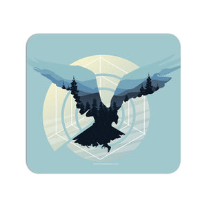 Abstract Bird Mouse Pad